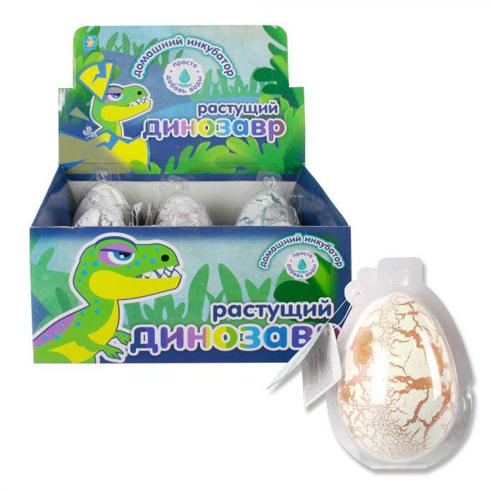Набор Домашний инкубатор Мега-яйцо с растущим динозавром 10см.