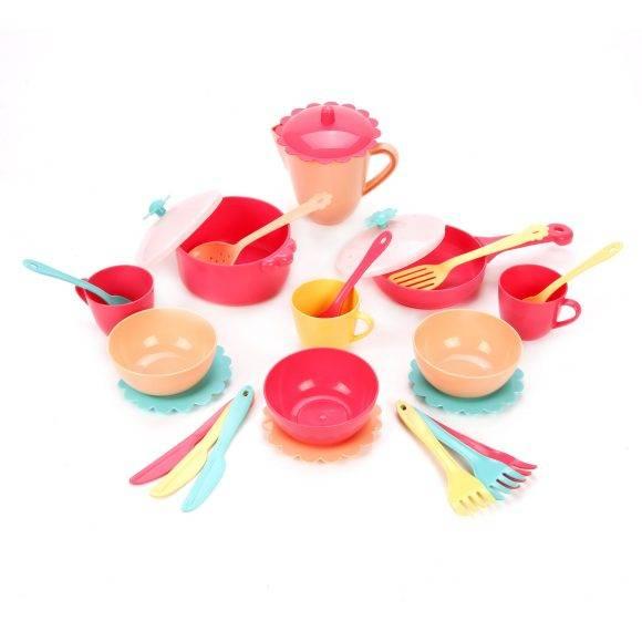 Набор посуды Карамель 26пр. пласт
