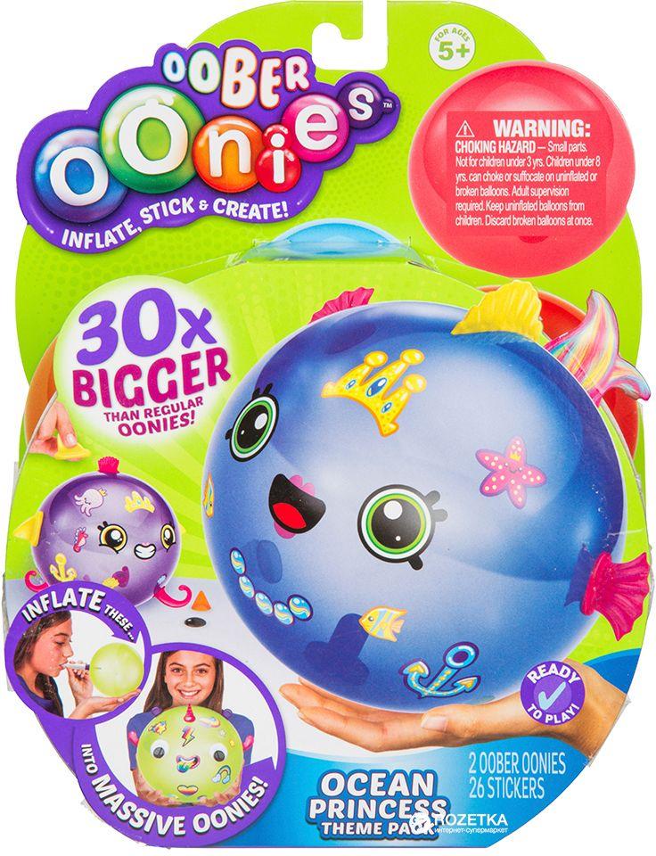 Творч Создай шарик Oonies Тематический набор OOber Принцесса океана + аксес