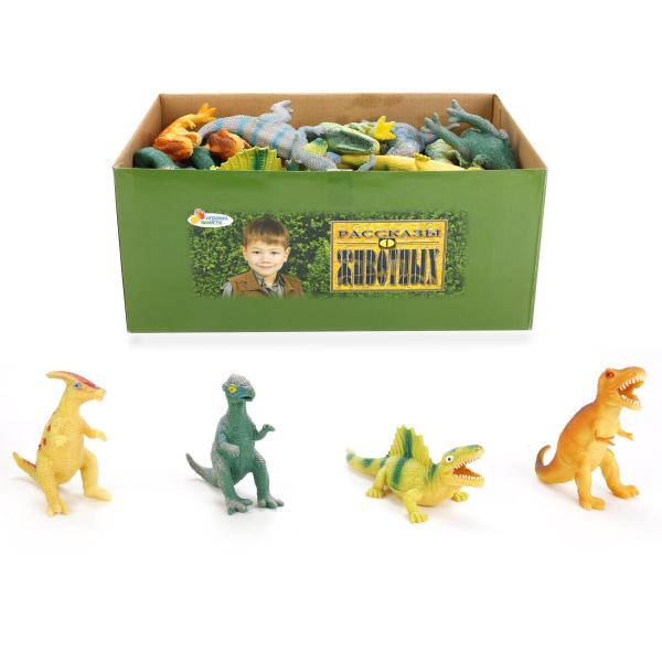 Тянучка Динозавр ассорти