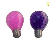 Жмяка с шариками, со светом - лампочка,  в д/боксе