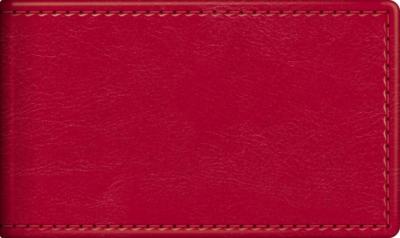 Визитница 12шт Sarif Красный
