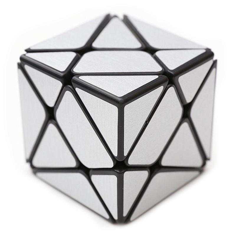 Головоломка Кубик зеркальный Фишер 3Х3 серебро
