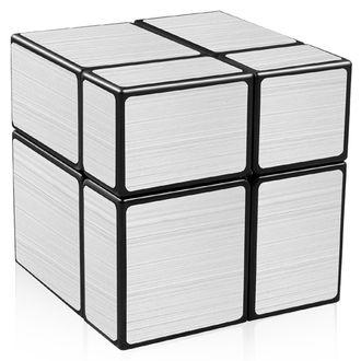 Головоломка Кубик зеркальный 2Х2 серебро