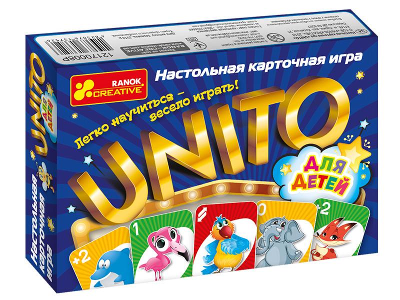 Игра Настольная UNITO (детская) карточная