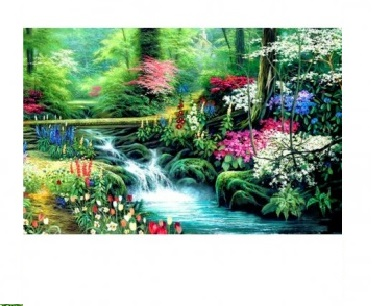 Творч Алмазная мозаика 20*30 Волшебная природа