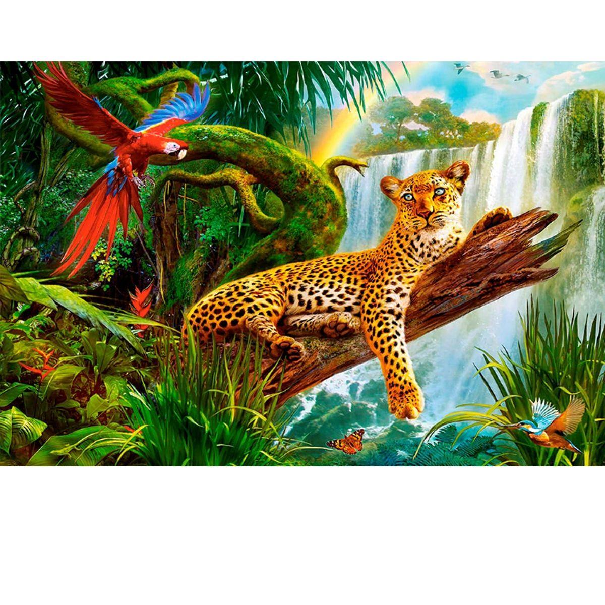 Творч Алмазная мозаика 20*30 Леопард