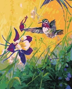 Творч Картина по номерам 40*50 Вкусный нектар