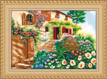 Творч Алмазная картина 68*27 Лето