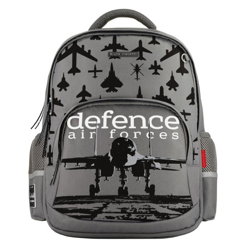 Рюкзак эргономич. BV Defence forces Самолёт серый
