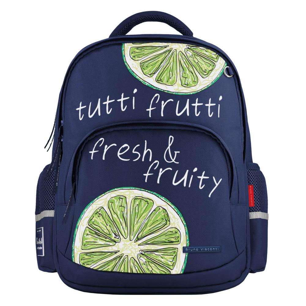 Рюкзак эргономич. BV Fresh&Fruity. Лайм темно-синий