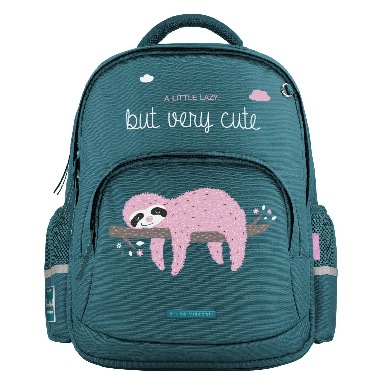 Рюкзак эргономич. BV Pink sloth бирюзовый