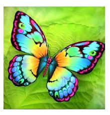 Творч Алмазная мозаика 40*50 Бабочка