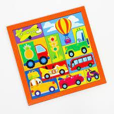 Игра Головоломка Тетрис Машинки для малышей