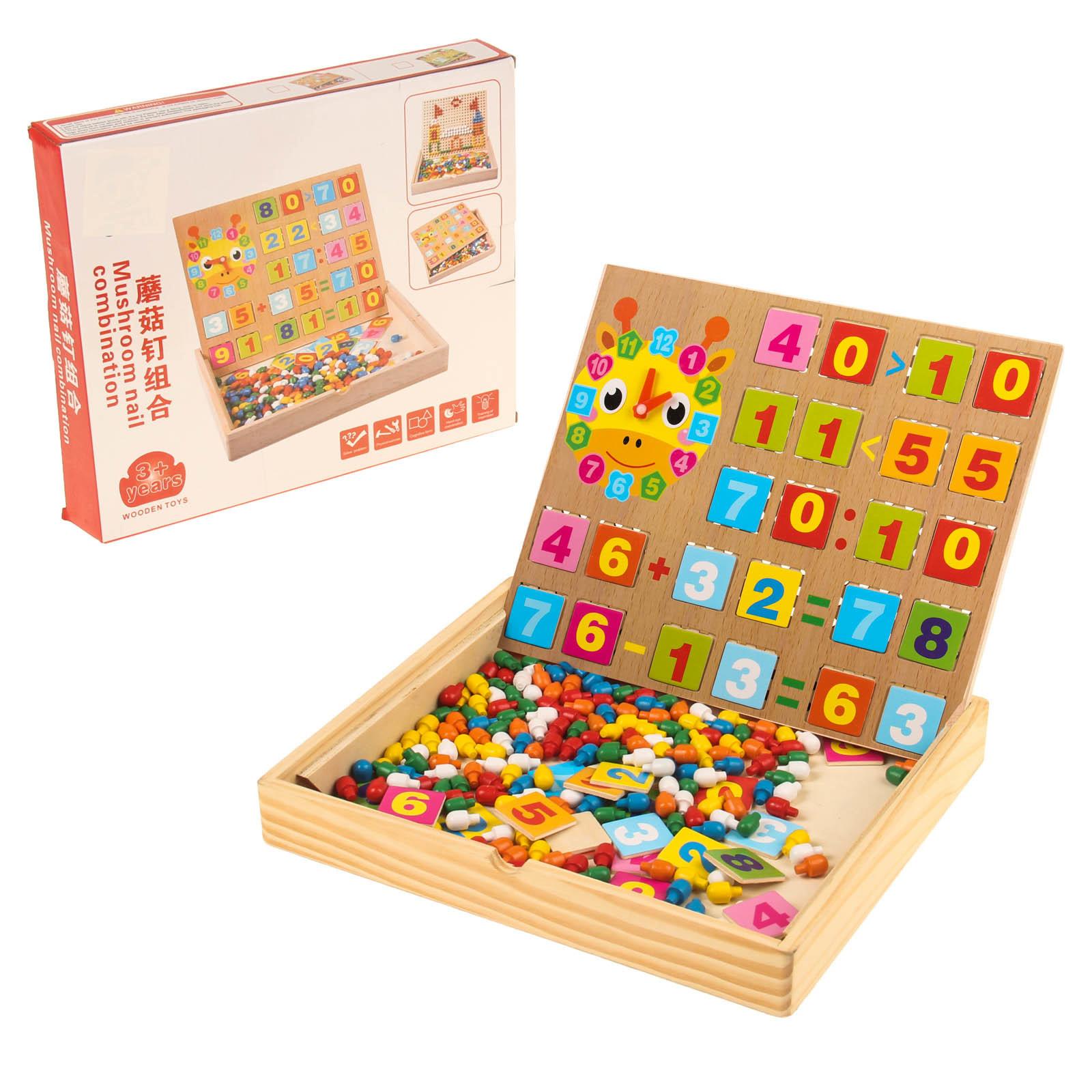 деревянная Мозайка Играем и считаем