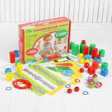 Игра деревянная Набор развивающий Для самых маленьких