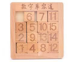 Игра Головоломка Пятнашки 15 цифр