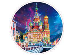 Творч Алмазная мозаика Круг 24см Санкт-Петербург