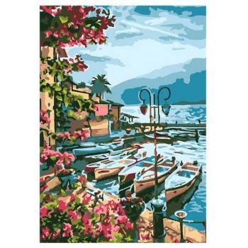 Творч Картина по номерам Озеро Гарда