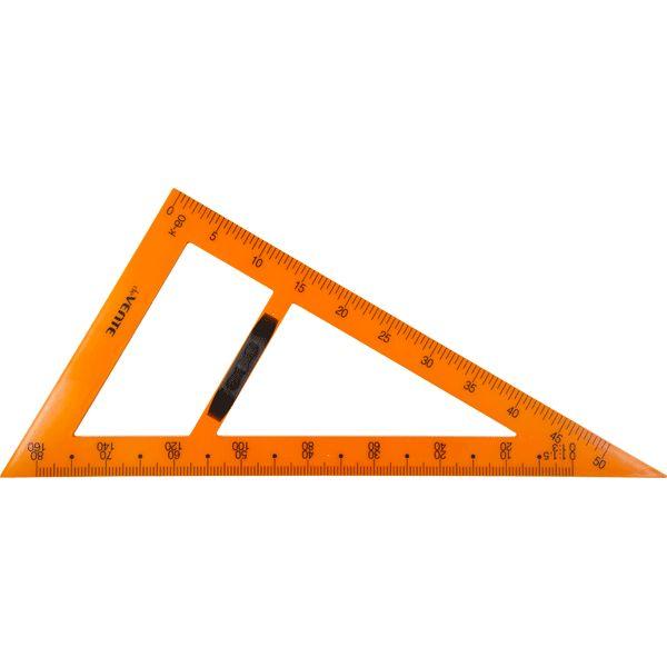 Треугольник классный пластиковый 30*90*60гр