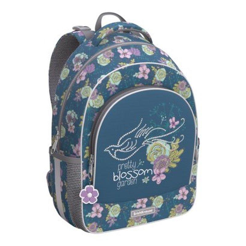 Ранец EK Blossom зеленый с цветами