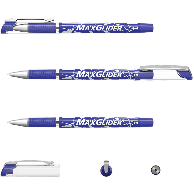 Ручка шариковая синяя EK MaxGliderR, Ultra Glide Technology