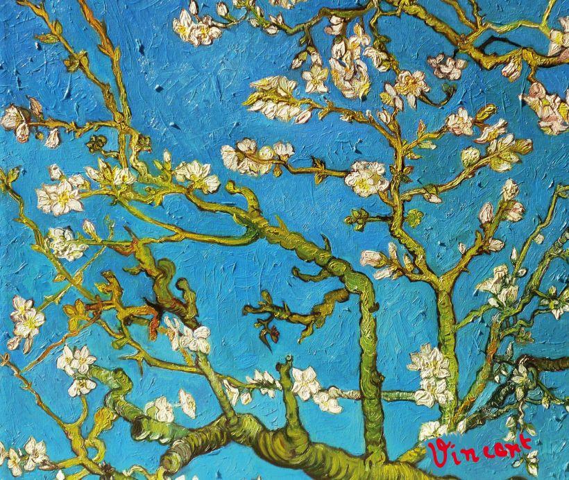 Скетчбук Винсент Ван Гог. Ветка миндаля