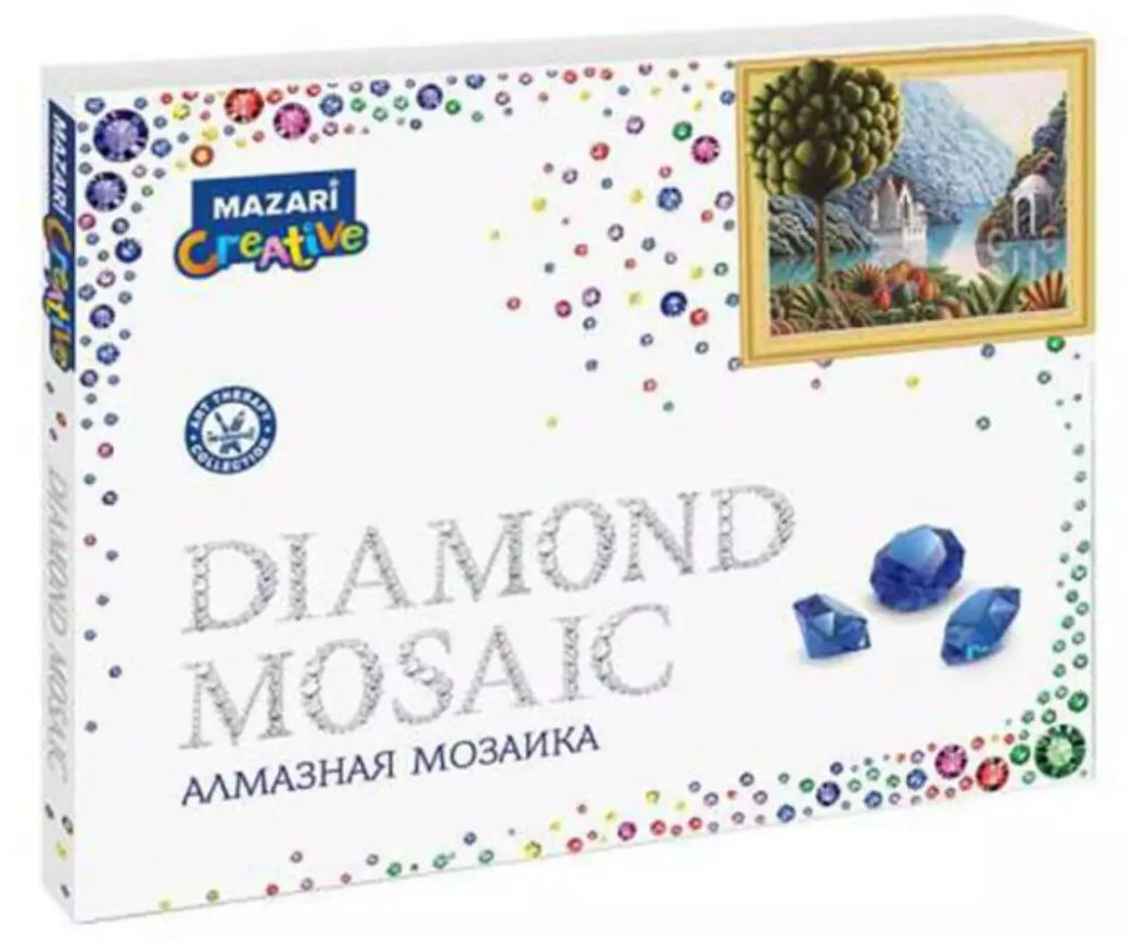 Творч Алмазная мозаика 40*50 Сказочный пейзаж