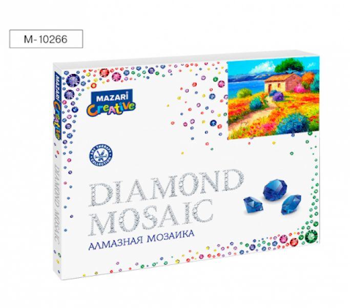 Творч Алмазная мозаика 40*50 Яркие краски лета + рама