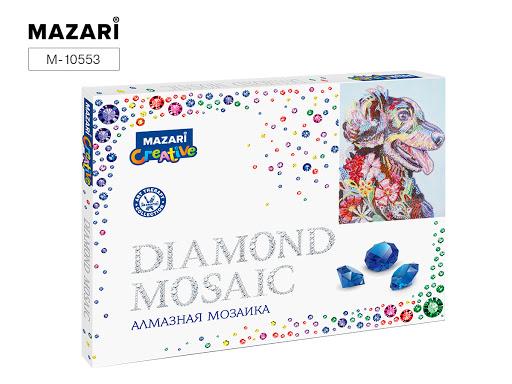 Творч Алмазная мозаика 30*40 Разноцветный пес