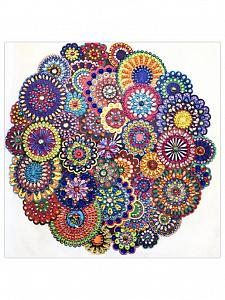 Творч Алмазная мозаика 30*30 Орнамент 2