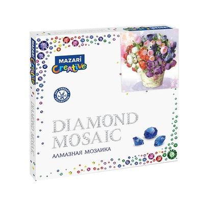 Творч Алмазная мозаика 30*30 Диковинный букет