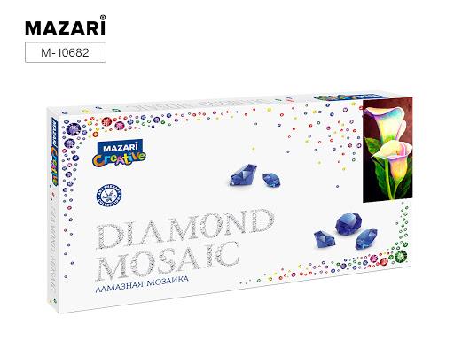 Творч Алмазная мозаика 22*40 Каллы