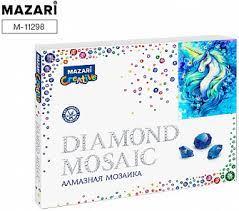 Творч Алмазная мозаика 40*50 Единорог