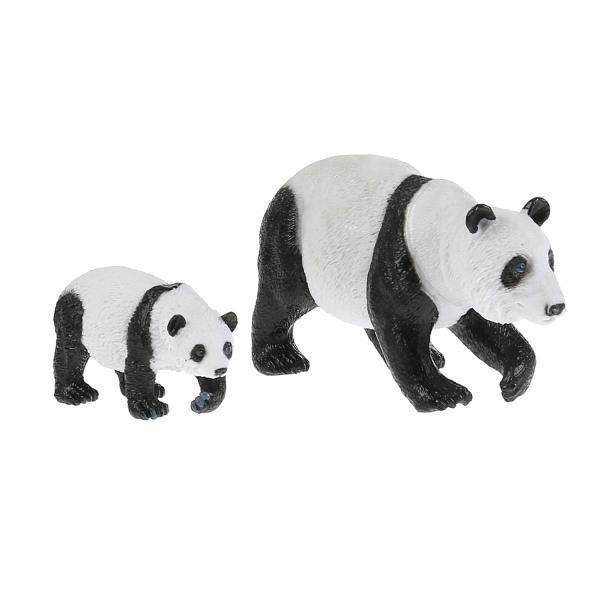 из ПВХ Животные Мамы и малыши (панда и детеныш)