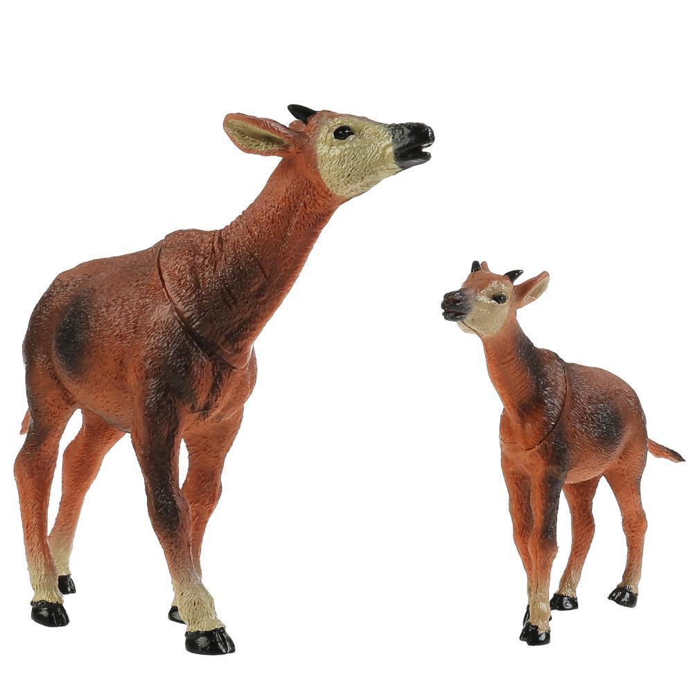 из ПВХ Животные Мамы и малыши (корова и теленок)