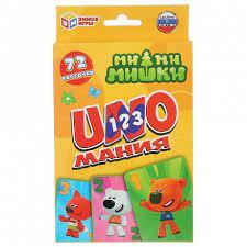 Игра Настольная Уномания Ми-ми-мишки. карточки 72шт