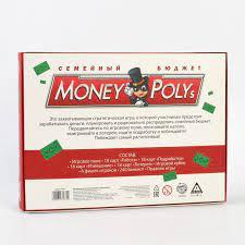 Игра Настольная Экономическая Money Polys Семейный бюджет