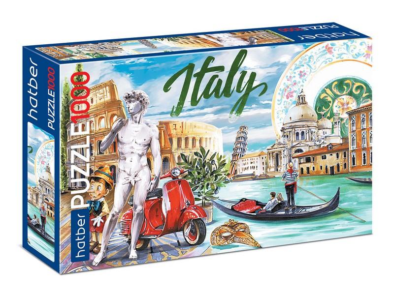 Пазл 1000 Вокруг света Италия