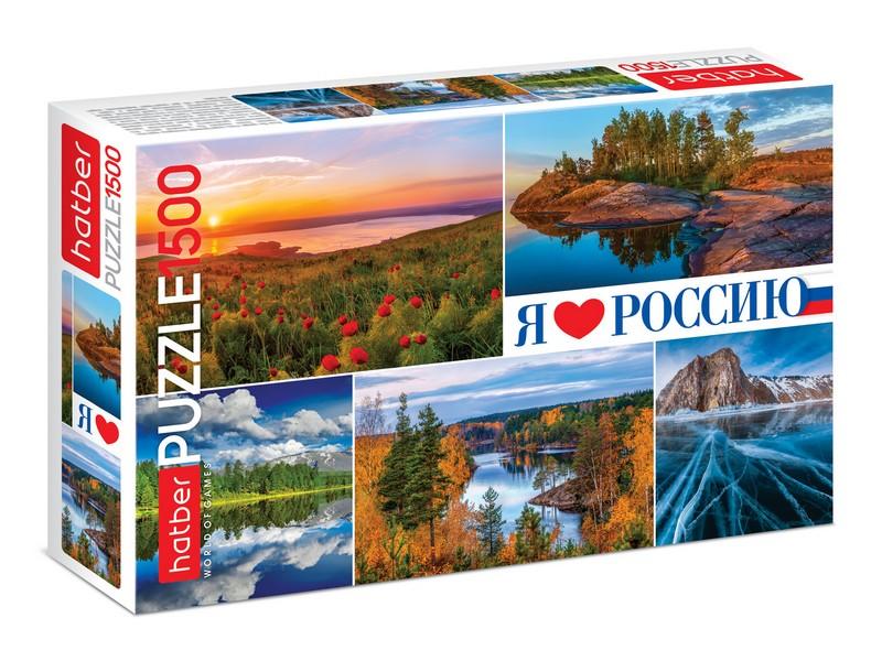 Пазл 1500 Просторы России
