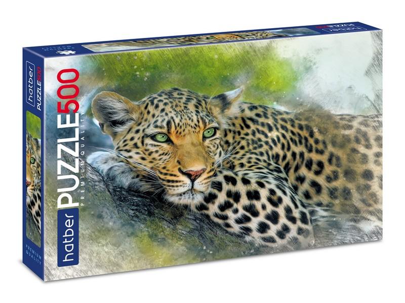 Пазл 500 Леопард