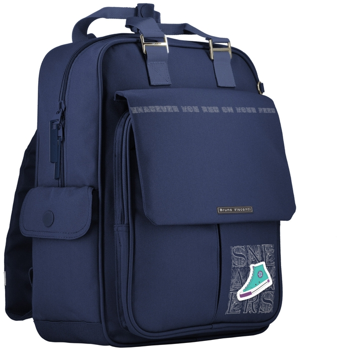 Рюкзак молодежный BV Sneackers синий