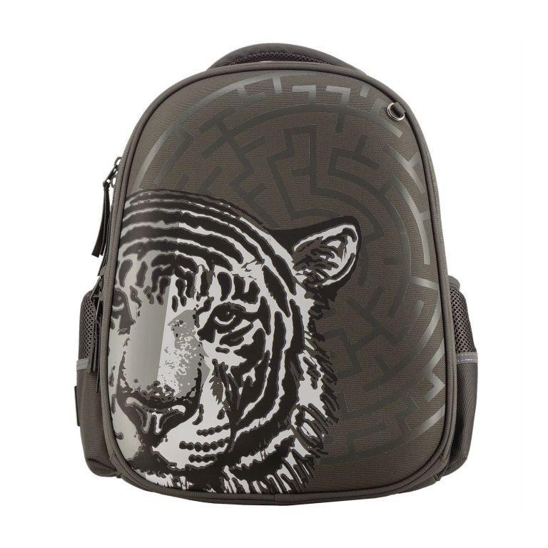 Распродажа Ранец панцирный BV Тигр темно-серый