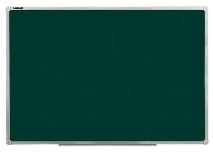 Распродажа Доска магнитно-меловая зеленая 900*1200 алюм,рама полочка