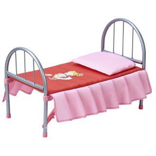 Кроватка для куклы мет.  46*27*32см