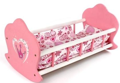 Кроватка-люлька деревянная Корона 51*30*25см