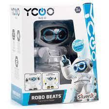 Робот Битс танцующий пластик звук