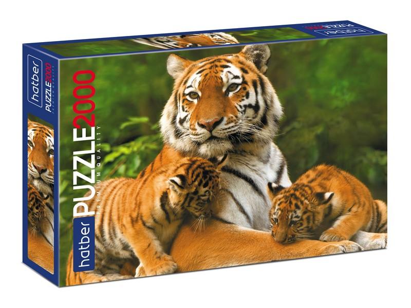 Пазл 2000 Тигриные истории