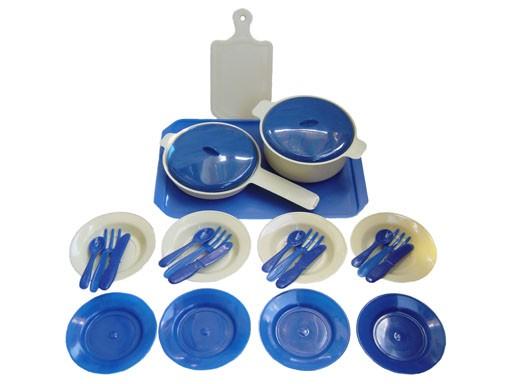набор Посудка 26 пр. пласт