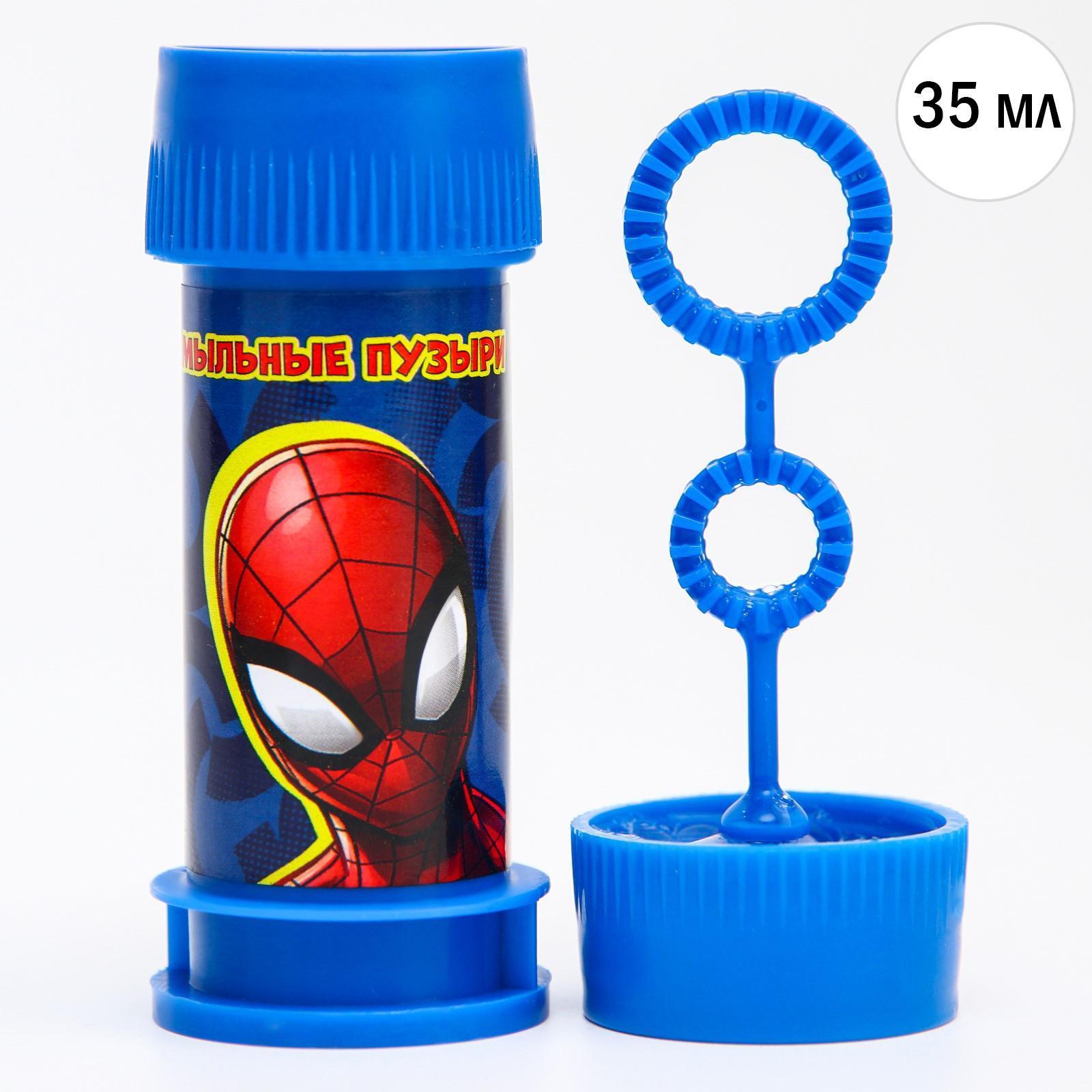 Мыльные пузыри 35мл Человек-паук